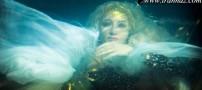 اولین بازیگر خانم به عنوان پری دریایی سینمای ایران!