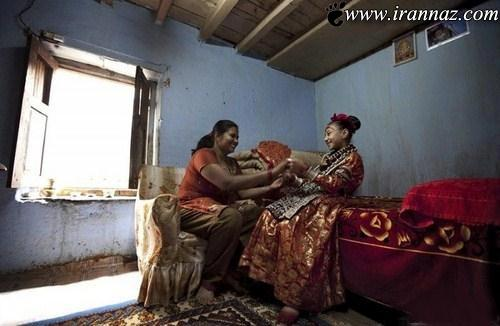 رفتار بسیار عجیب مردم نپال با دختران 16 ساله (عکس)