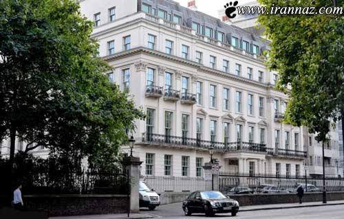 گران ترین خانه در شهر لندن متعلق به کیست؟ (عکس)
