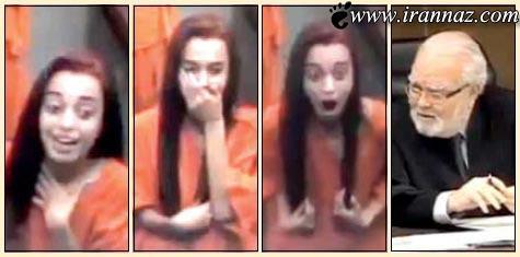 تنبیه زنی که برای قاضی دادگاه شکلک در آورد  (عکس)
