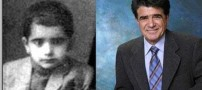 عکس هایی کمیاب از کودکی هنرمندان معروف ایرانی