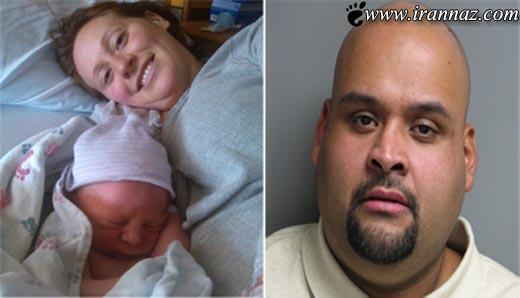 به دنیا آمدن نوزاد در میان ترافیک شدید شهری! (عکس)