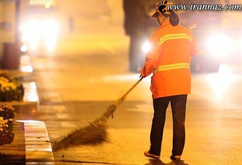 حرکت عجیب یک زن چینی و میلیاردر در خیابان! (عکس)