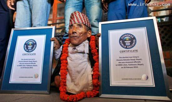 عکسهای دیدنی از برترین رکوردهای گینس سال 2012