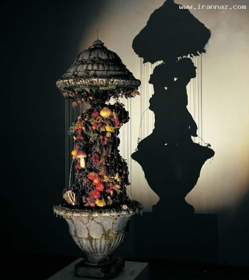 عکس هایی از هنرنمایی خارق العاده و زیبا با زباله ها!