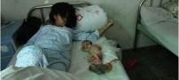 جنجال سقط اجباری جنین 7 ماهه ی این زن! (16+)