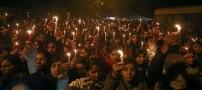 جسد دختر قربانی تجاوز جنسی سوزانده شد! (عکس)