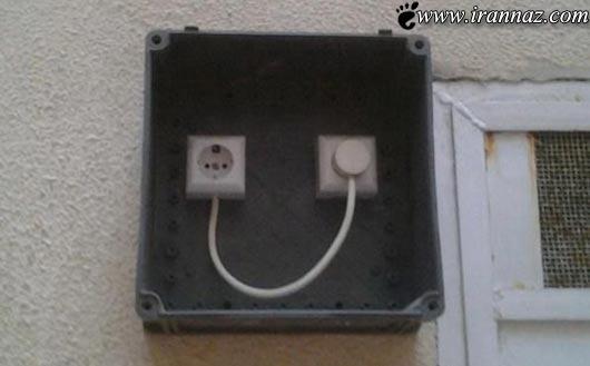 عکس های خنده دار از خلاقیت و ابتکار های احمقانه