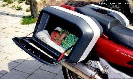 عکس های خنده دار از بی مسئولیت ترین پدر و مادرها
