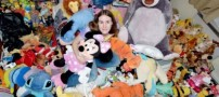 عشق بسیار عجیب یک دختر 27 ساله به عروسک ها!