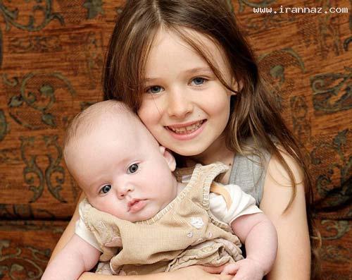 دختر 6 ساله پس از دیدن فیلم خواهرش را به دنیا آورد