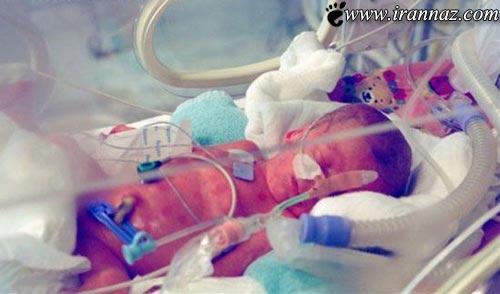 جنجال بدنیا آمدن نوزادی از یک دختر 9 ساله ! (عکس)