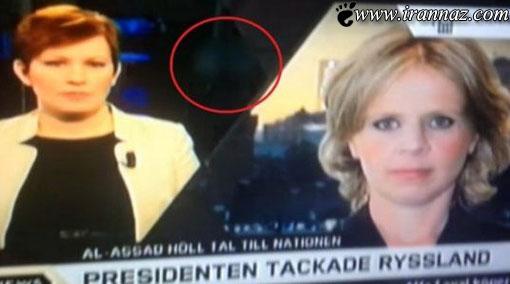 جنجالی شدن پخش یک فیلم مستهجن از شبکه خبری!