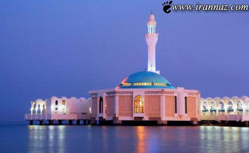 عکس هایی از مسجدی شناور در سواحل دریای سرخ