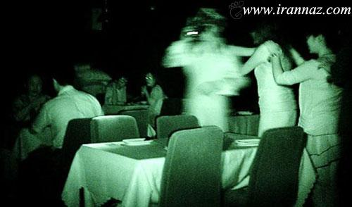 در این رستوران ترسناک هیچ چیزی را نمی بینید (عکس)