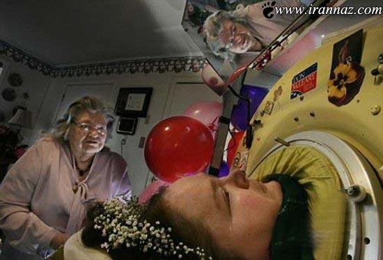 زن عجیبی که 60 سال خوابیده زندگی کرد (عکس)