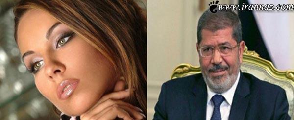 ازدواج زیبا و مشهورترین دختر مصر با مرسی (عکس)