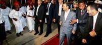 رقاصی این زنان آفریقایی در حضور رئیس جمهور کشور!