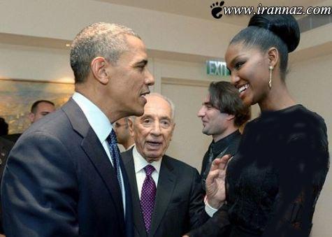 ملکه زیبایی که هوش و حواس رئیس جمهور را برد!