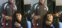 رودست زدن علی کریمی به دختر استقلالی (عکس)