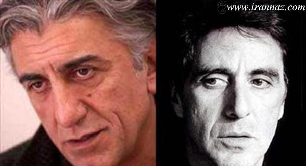 عکس های دیدنی شباهت بازیگران زن ایرانی با خارجی