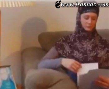 مسلمان شدن مانکن امریکایی توسط یک ایرانی(عکس)