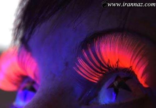 عجیب و غیرعادی ترین آرایش مژه های دختران امروزی