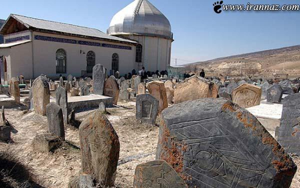 مخوف و عجیب ترین قبرستان ایران در مازندران (تصاویر)