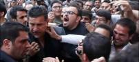 عصبانیت علی دایی در مراسم عسل بدیعی! (عکس)