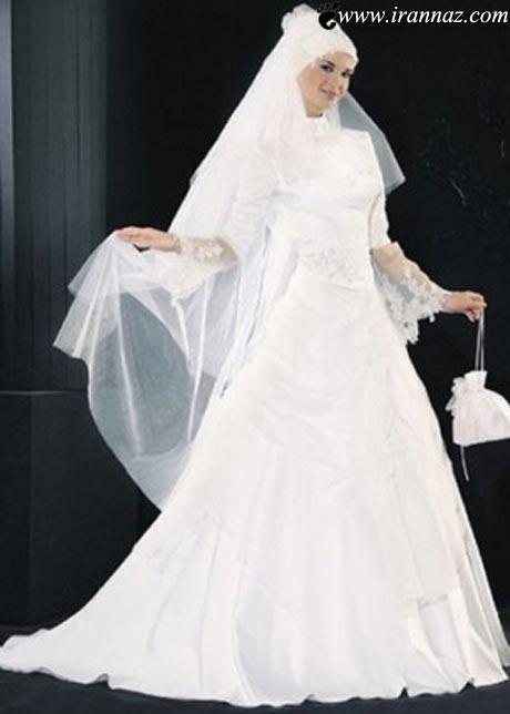 جدیدترین مدل لباسهای عروس اسلامی در سال 2013