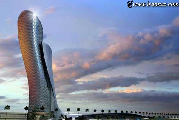 عکس های فوق العاده از آسمانخراش واقعی در ابوظبی