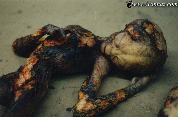 عکس های عجیب و غیر عادی از بیگانگان مرده!