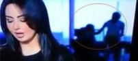 صحنه غیراخلاقی در پخش زنده شبکه العربیه (عکس)
