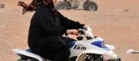 گزارش تصویری از تفریح جدید و مشروط زنان سعودی !!
