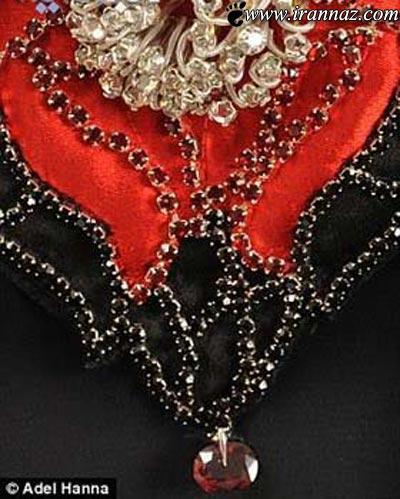 باورنکردنی از لباس زنانه 55 میلیارد تومانی! (عکس)