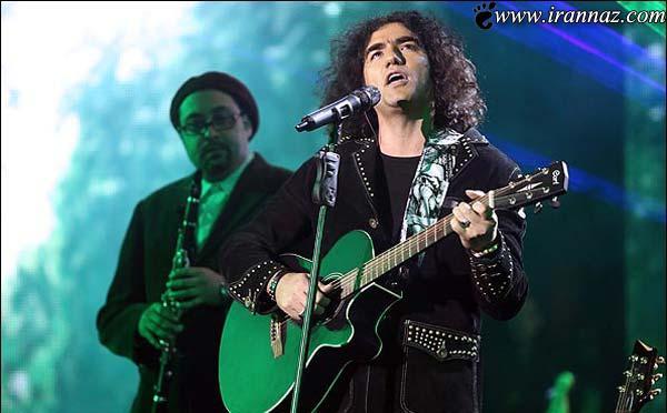 تیپ خاص خواننده معروف در برج میلاد (عکس)
