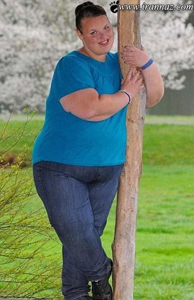 عکس های دیدنی چاق ترین دختر نوجوان در بریتانیا!