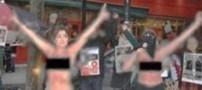 جنجال عریان شدن چند زن ایرانی در سوئد (عکس)