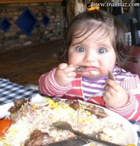 دختری جذاب و دیدنی و یک چلو کباب خور حرفه ای!