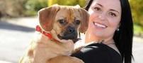 ابراز علاقه متفاوت خانم ها به سگ و شوهر!(عکس)