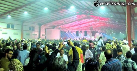 هتک حرمت زنان ایرانی در کنسرت خواننده های مشهور