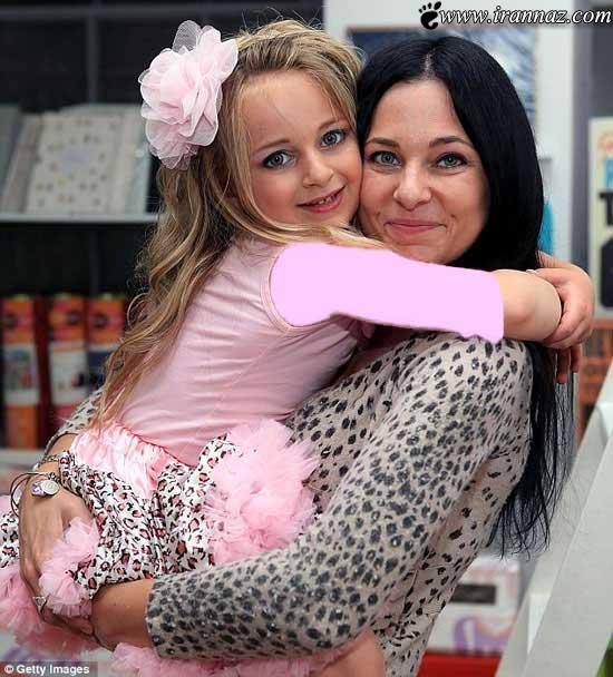 عکس های زیبا و جذاب ترین دختر 6 ساله در جهان