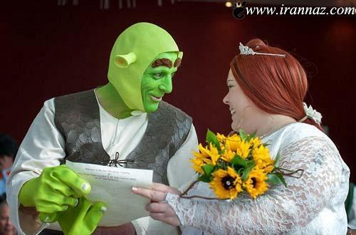 www.irannaz.com/ ازدواج عجیب این زوج به سبک غول های فضایی (تصاویر)