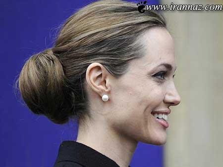 درد سر ساز شدن موهای خاکستری آنجلینا جولی!