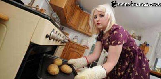 ترسناک ترین بخش زندگی این دختر جوان!! (عکس)