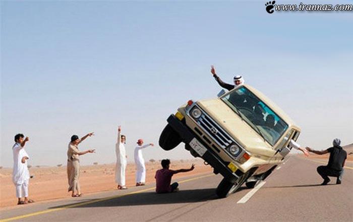 عکس های جالب از هنرنمایی جوانان خلیج فارس