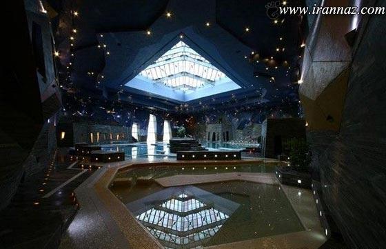تصاویر دیدنی از زیباترین استخر آسیا در شهر اصفهان