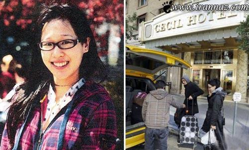 بدن تجزیه شده دختر 21 ساله در مخزن آب هتل(عکس)