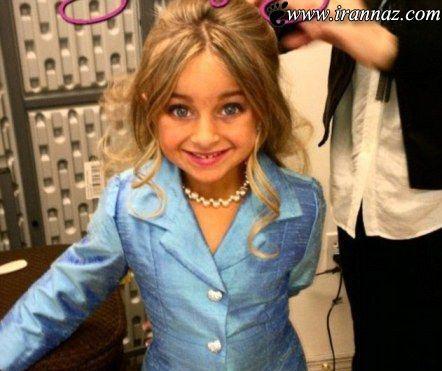 انتخاب جذاب ترین دختر بچه 6 ساله در سال 1391