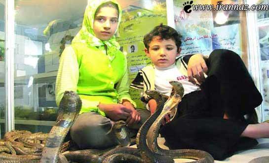 این دختر شجاع ایرانی 12 ساعت در اکواریوم مرگ بود